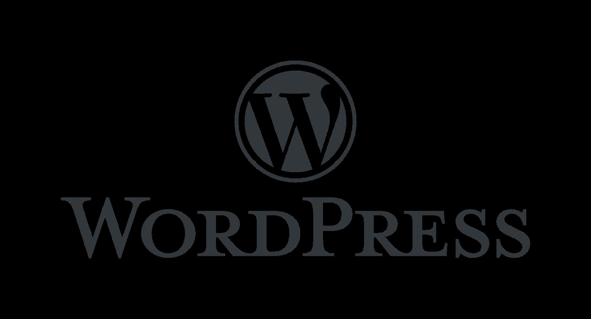 wordpress logo - Design
